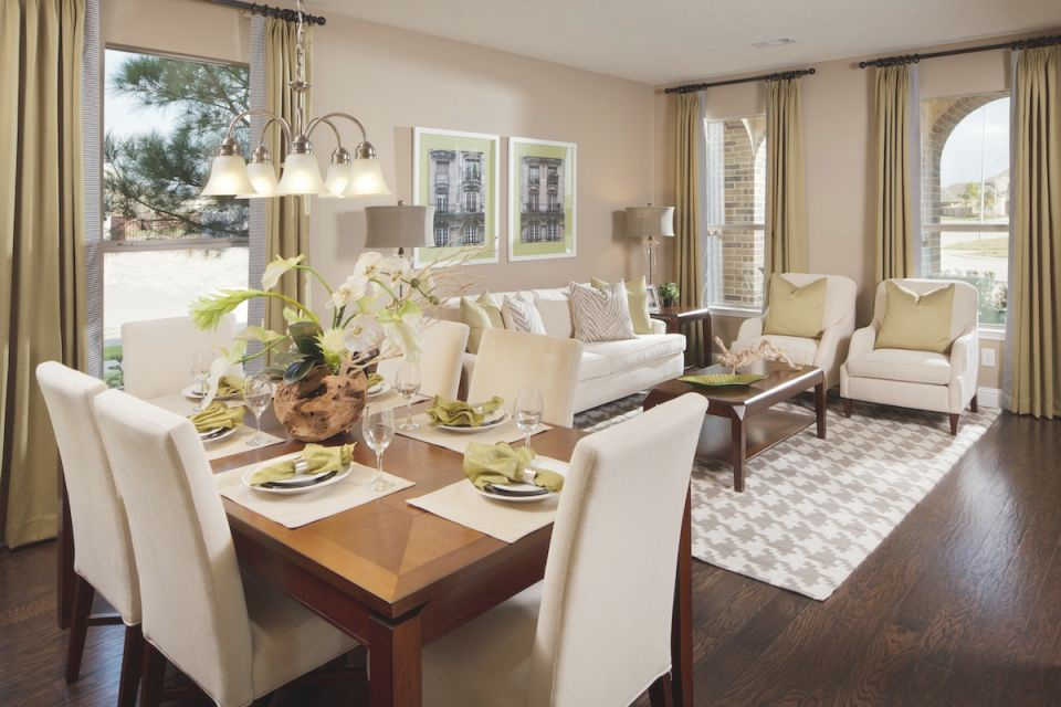 Livingroom Apartment Living Room Dining Combo Decorating intended for Living Room And Dining Room Combo Decorating Ideas