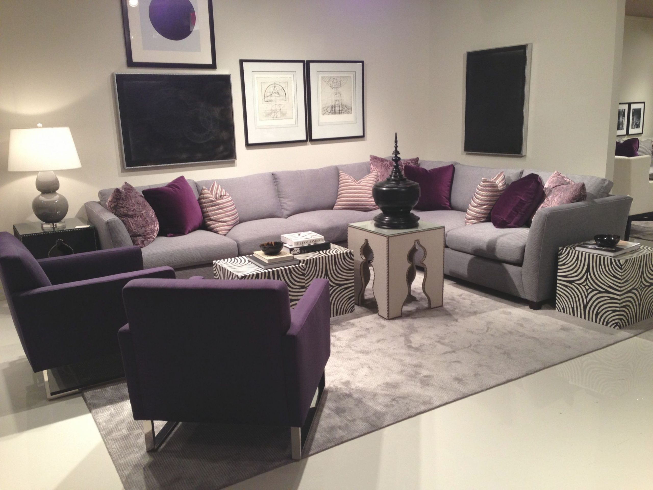Love Purple With Images Living Room Decor Gray Purple For Purple And Green Living Room Decor Awesome Decors