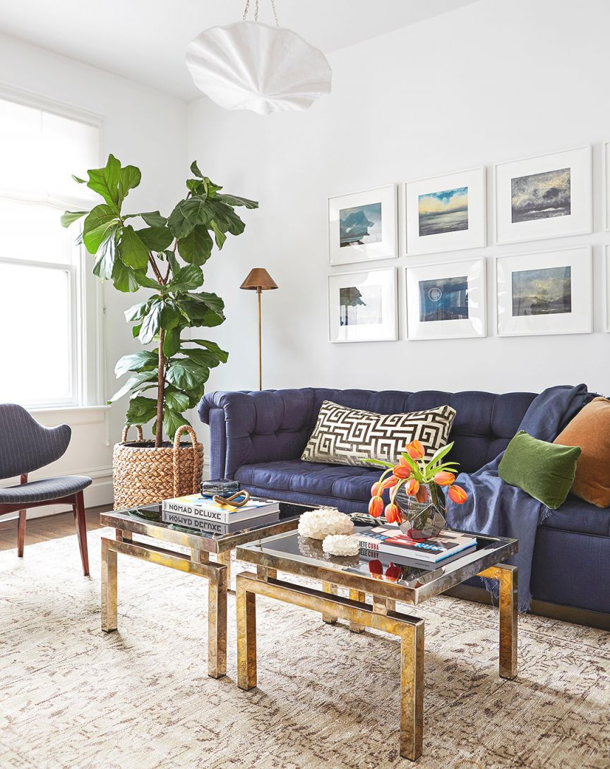 Small-Space Decorating | Better Homes & Gardens regarding 15 Ideas Gallery For Small Living Room Decorating Ideas