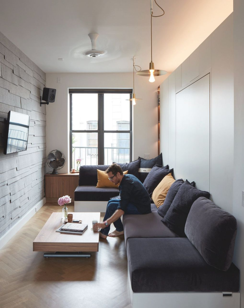 Small Space Living In A Soho Apartment | Small Living Room throughout 15 Ideas Gallery For Small Living Room Decorating Ideas