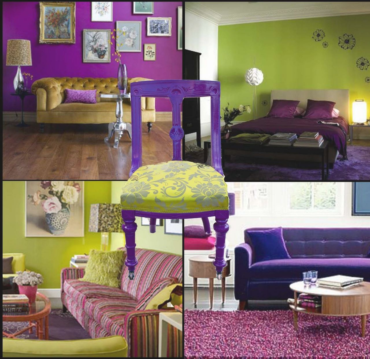 Very Cool Lime Green Purple Room Ideas! | Purple Living Room intended for 13+ Unique Ideas For Purple And Green Living Room Decor