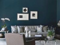 10 Grey & Navy Living Rooms To Inspire Your Next Decorating with Blue And Grey Living Room