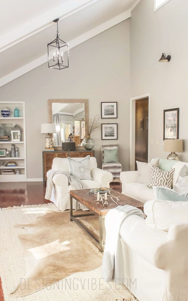 13 Best Neutral Paint Colors | Transitional Living Rooms inside 15 Ideas Gallery For Best Neutral Paint Colors For Living Room