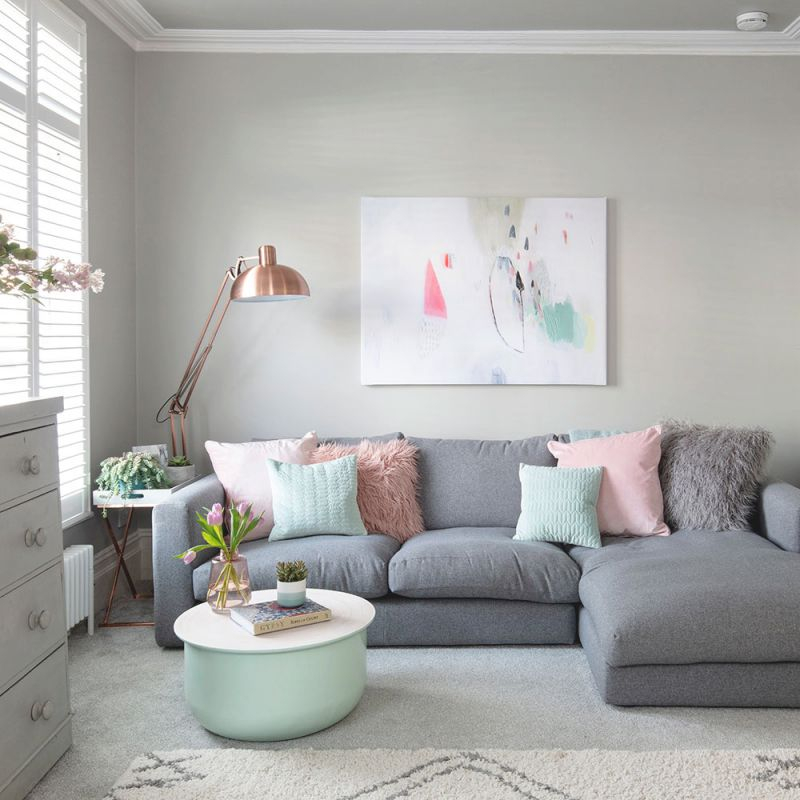25 Grey Living Room Ideas For Gorgeous And Elegant Spaces regarding 12+ Awesome Gallery For Blue And Grey Living Room