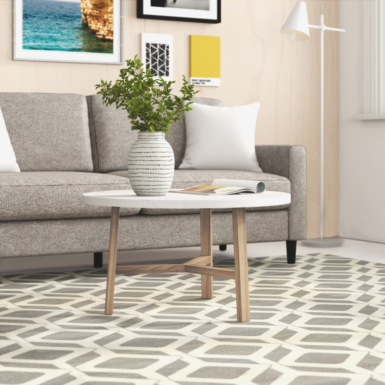 3-Piece Mid Century Modern Accent Table Set throughout 10+ Unique Gallery Accent Tables For Living Room