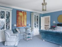 30 Rooms That Showcase Blue-And-White Decor | Architectural inside 10+ Inspiration For Blue And White Living Room