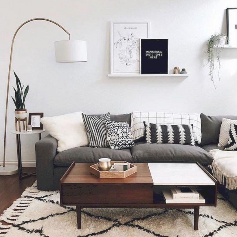 42 Best Modern Apartment For 2019 & 68+ Minimalist Living in The Best Ideas for Apartment Living Room Design Ideas