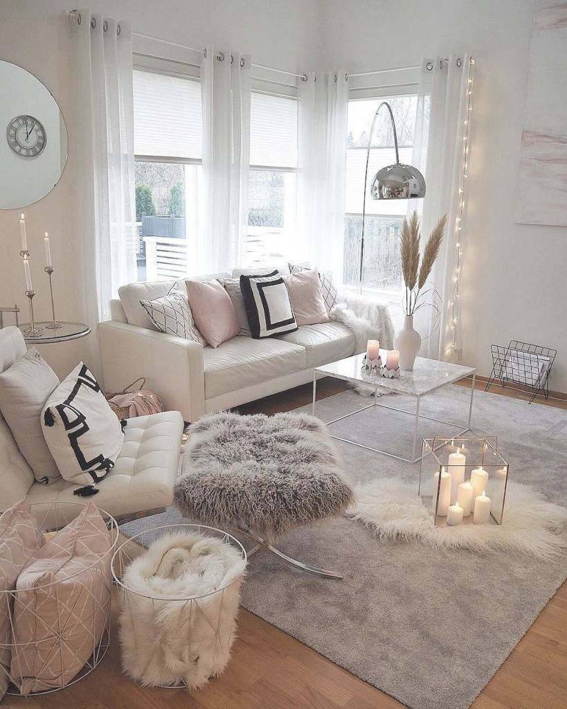 75 Cozy Apartment Living Room Decorating Ideas | Living Room pertaining to The Best Ideas for Apartment Living Room Design Ideas