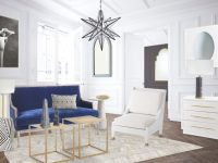 A Fresh Blue And White Living Room Design – Thou Swell within 10+ Inspiration For Blue And White Living Room