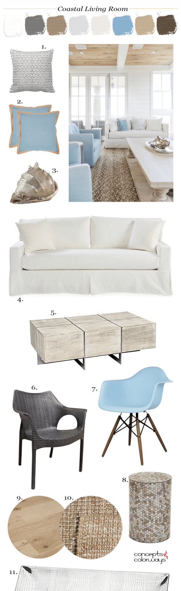A Tan And Blue Color Palette For Coastal Living Rooms inside 10+ Inspiration For Blue And Tan Living Room
