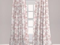 Ambesonne Vintage Curtains, Rustic Sprigs With Wild Peonies Nature Inspired Garden Pattern Vintage Look, Window Treatments 2 Panel Set For Living Room within 10+ Unique Gallery Burgundy Curtains For Living Room