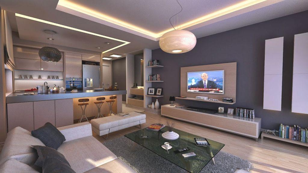 Apartment Living Room Interior Design Ideas intended for Apartment Living Room Design Ideas