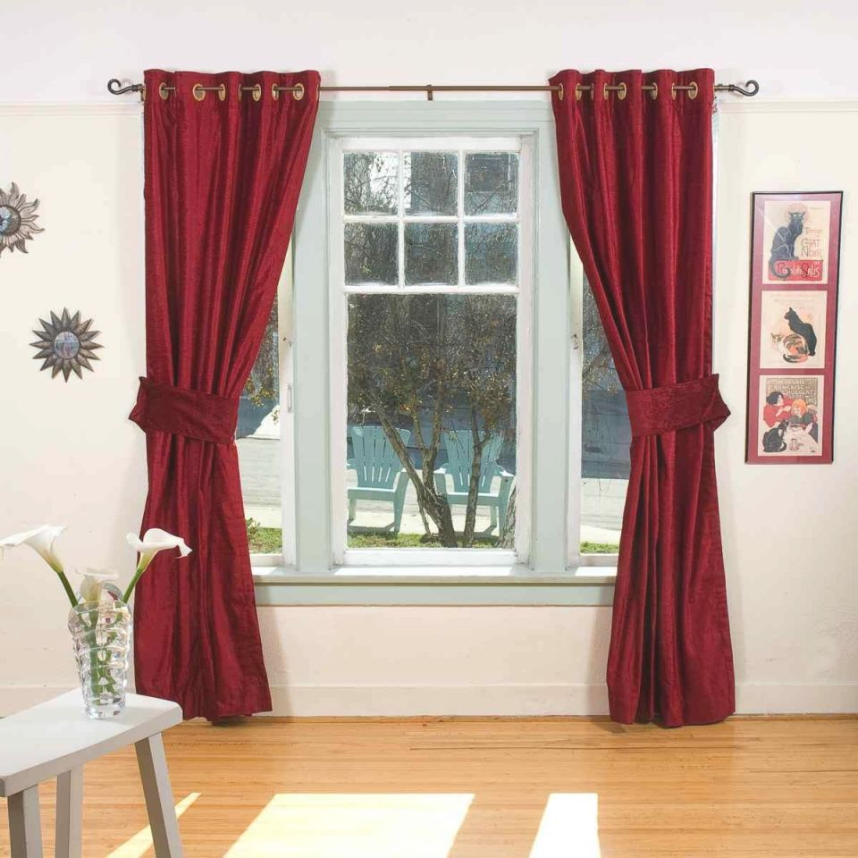 Beautiful Burgendy Curtains | Burgundy Curtains | Black intended for 10+ Unique Gallery Burgundy Curtains For Living Room