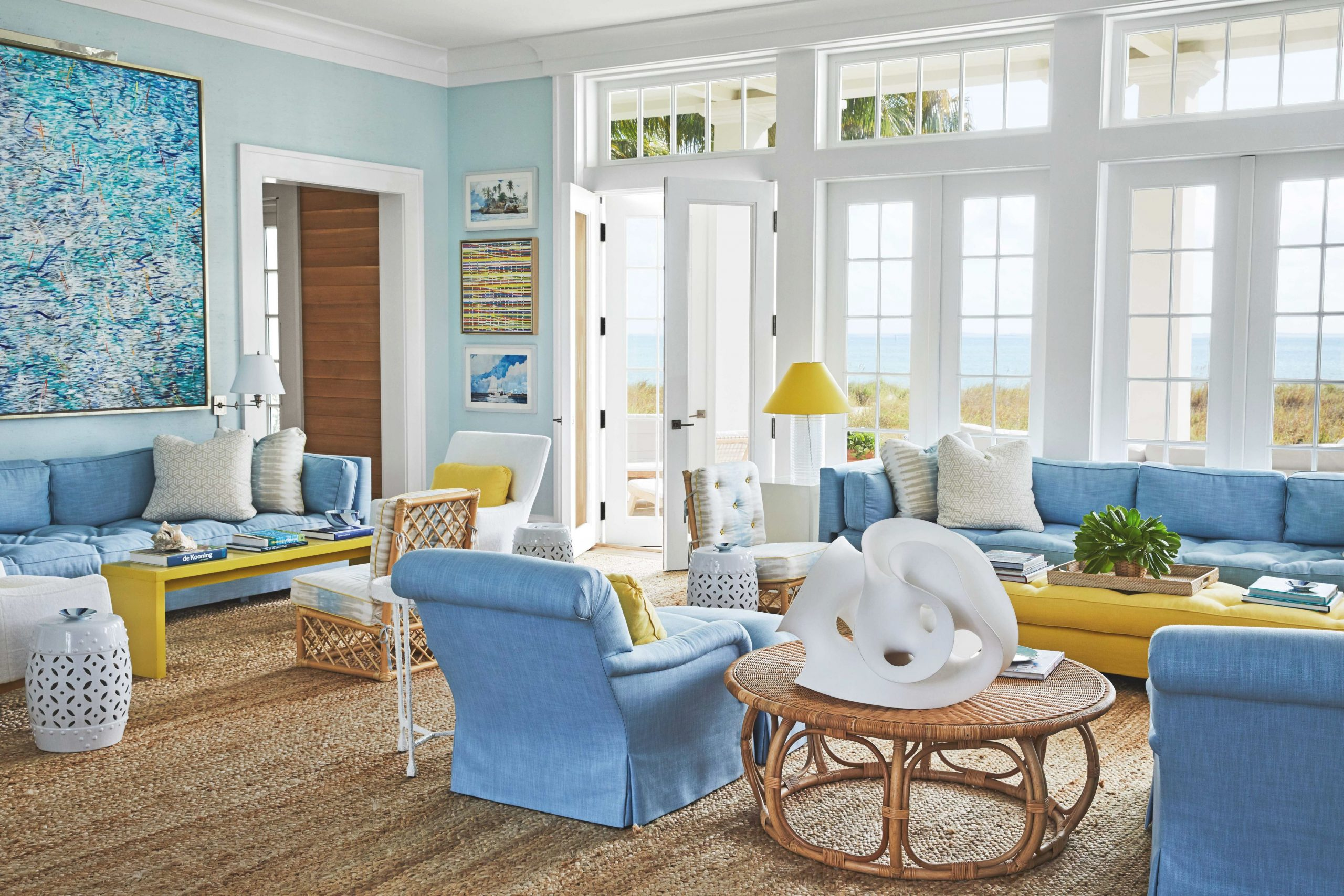 Best 21 Living Room Paint Colors - Beautiful Wall Color Ideas inside 15 Beautiful Ideas Blue And Yellow Living Room