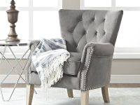 Better Homes & Gardens Accent Chair, Living Room & Home Office, Beige in Chairs For Living Room Cheap