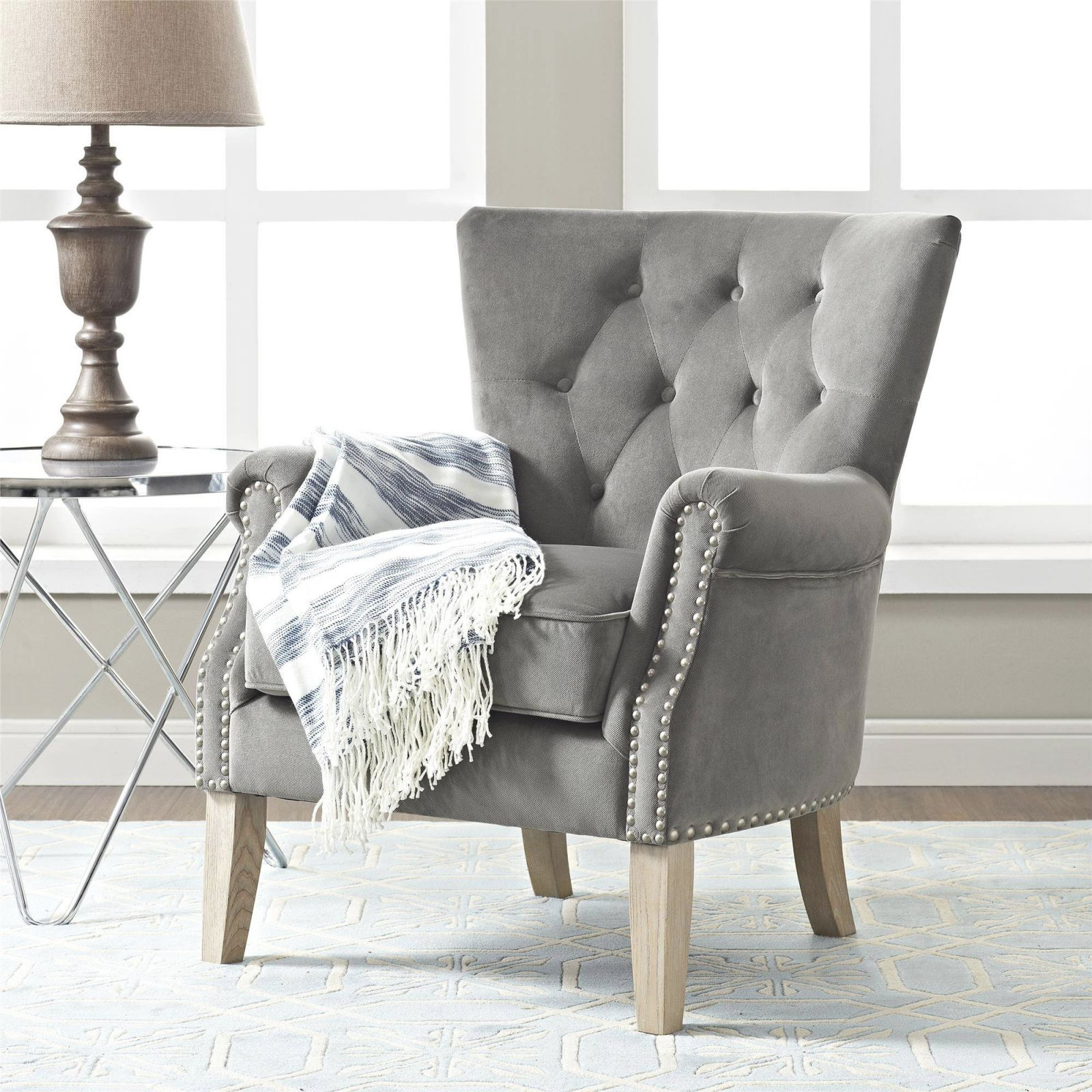 Better Homes Gardens Accent Chair Living Room Home Office Beige In Chairs For Living Room Cheap Awesome Decors