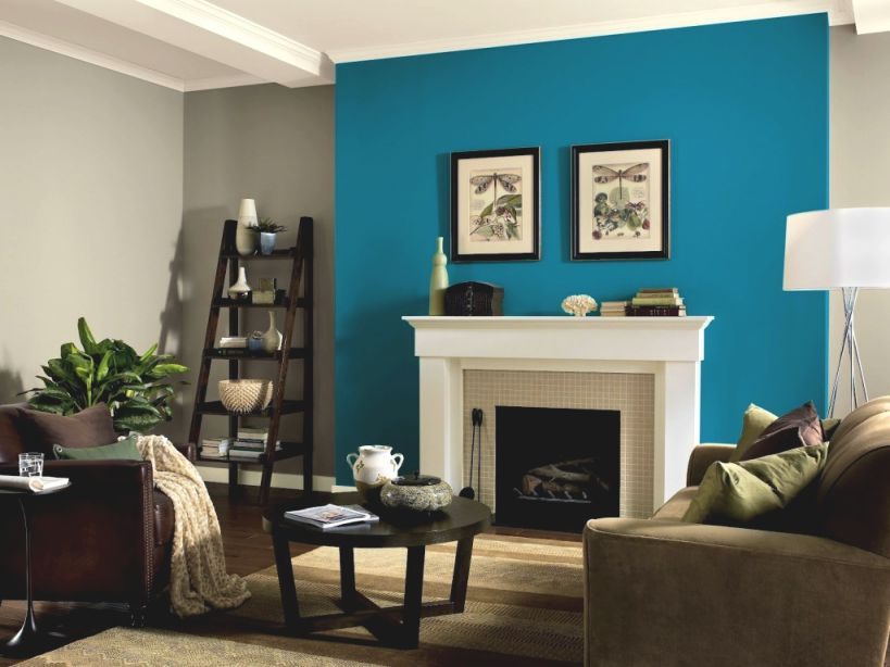 Blue And Brown Living Room Modern — Dvm Home Decor Ideas for 10+ Inspiration For Blue And Tan Living Room
