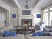 Blue And White – Design Chic Design Chic in 10+ Inspiration For Blue And White Living Room