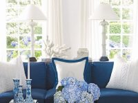 Blue And White Living Room – House Beautiful Pinterest with regard to 10+ Inspiration For Blue And White Living Room