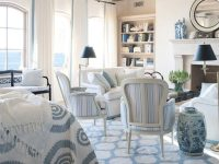 Blue And White Rooms – Decorating With Blue And White regarding Blue And White Living Room