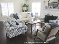 Blue, White And Silver: Timeless Design | Blue And White throughout 10+ Inspiration For Blue And White Living Room