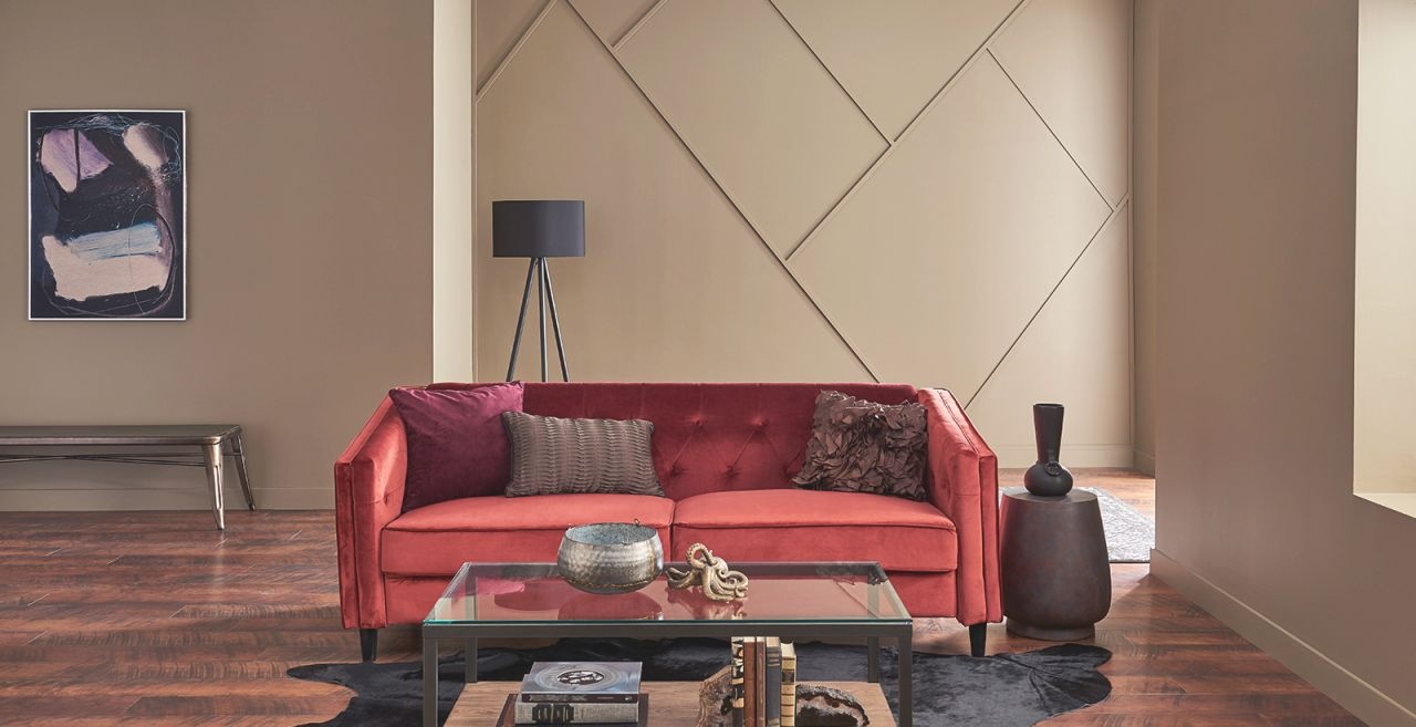Brown Living Room Ideas And Inspirational Paint Colors | Behr with regard to 8+ Amazing Inspiration Ideas For Brown And Red Living Room