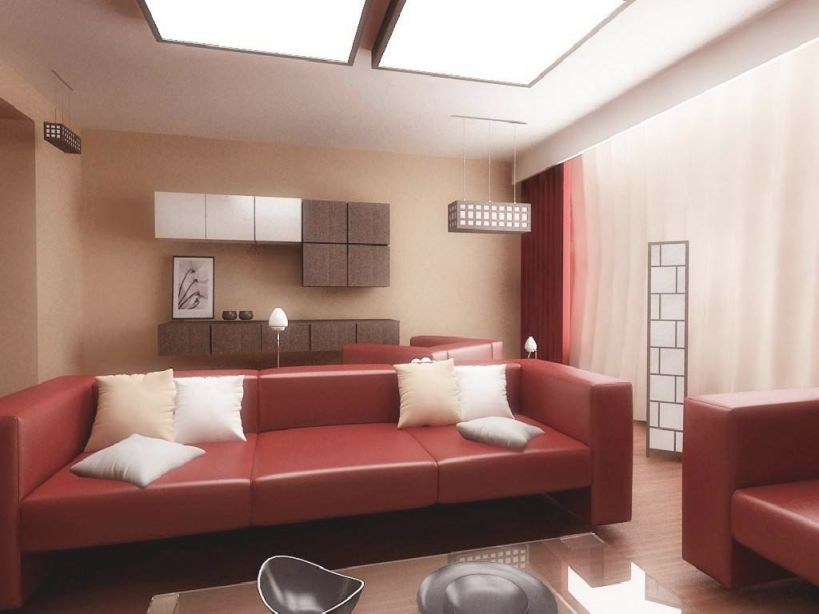 Brown Red Living Room Ideas - Homes Decor for 8+ Amazing Inspiration Ideas For Brown And Red Living Room