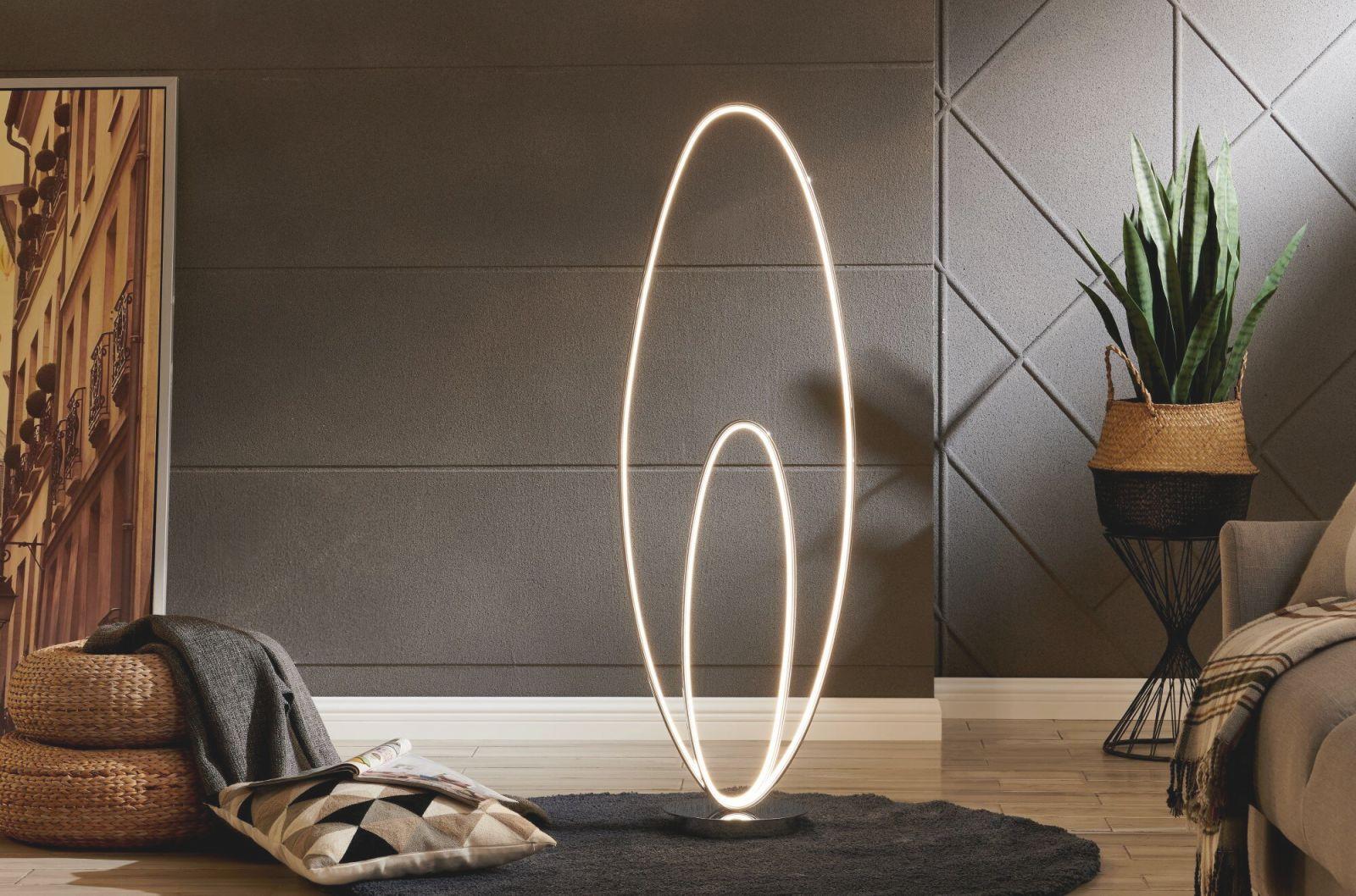 Carthage 126 Led Floor Lamp intended for Bright Floor Lamp For Living Room