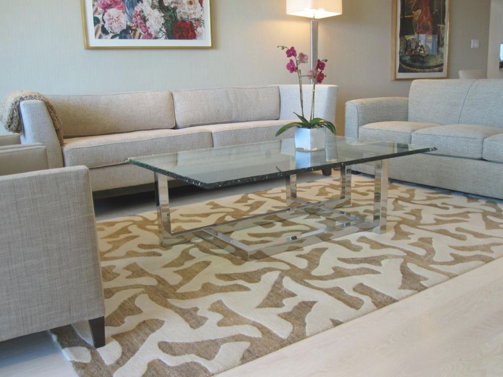 Choosing The Best Area Rug For Your Space | Hgtv pertaining to Big Area Rugs For Living Room