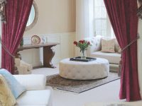 Classy Burgundy Curtains For Living Room — Oscarsplace throughout Burgundy Curtains For Living Room