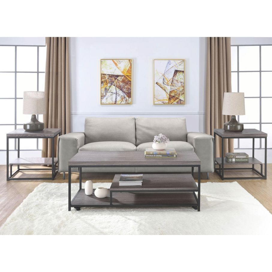 Clemens 3Pc Accent Table Set | Living Room Tables pertaining to Accent Tables For Living Room