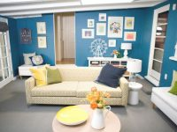 Contemporary Living Room In Marine Blue And Yellow | Hgtv within 15 Beautiful Ideas Blue And Yellow Living Room