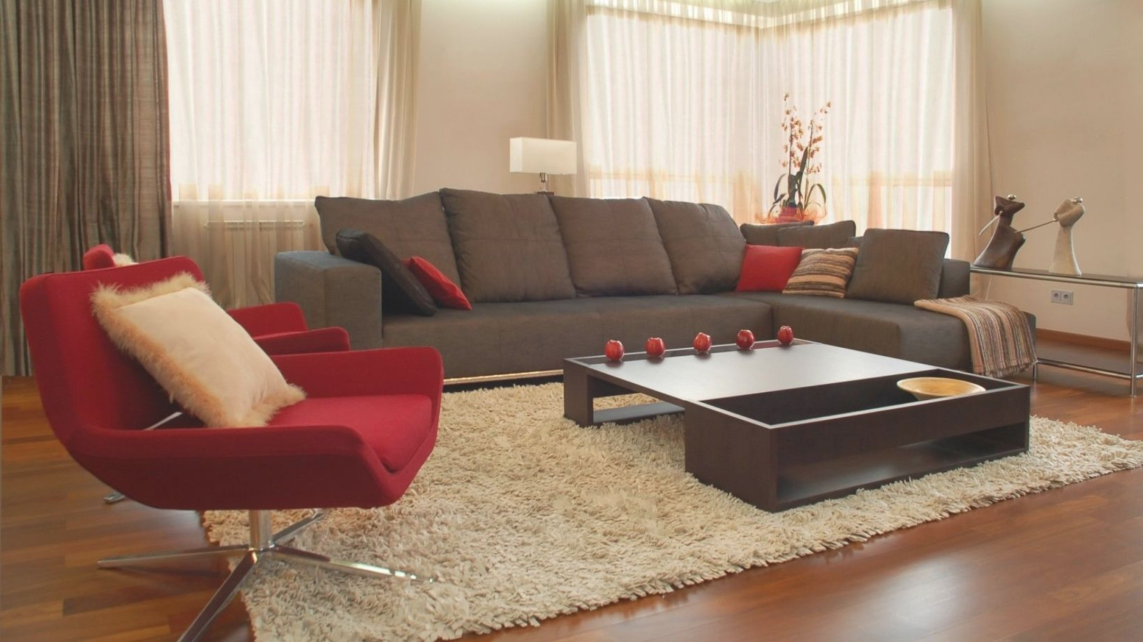 Cream Brown And Red Living Room Ideas Full Size | Brown with regard to Brown And Red Living Room