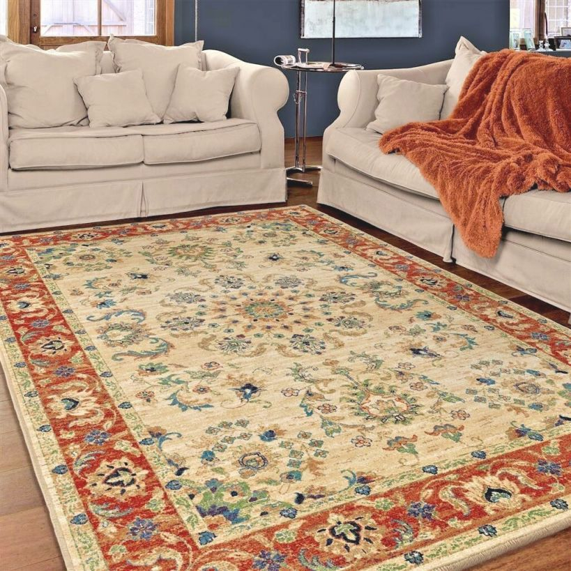 Details About Rugs Area Rugs 8X10 Rug Carpets Oriental Cool Bedroom Large Living Room Big Rugs regarding Awesome Ideas For Big Area Rugs For Living Room