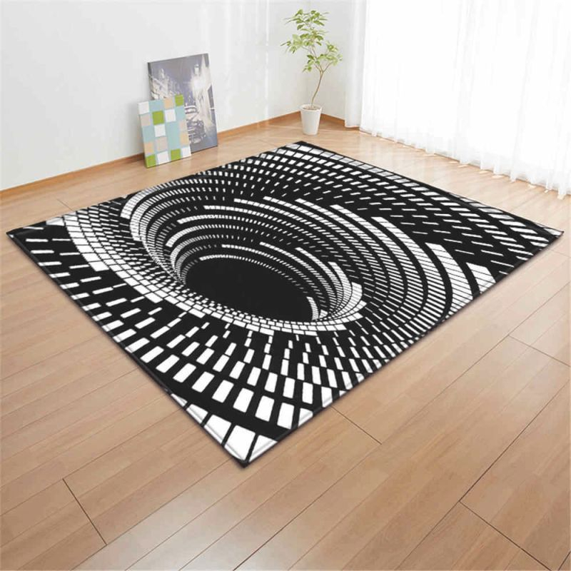 Geometric Living Room Area Rug Swirl White Black Floor with Awesome Ideas For Big Area Rugs For Living Room