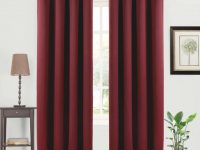 [Hot Item] 2 Panels Thermal Insulated Grommets Burgundy Red Drapes And Curtains For Bedroom Living Room 5263 Inch Blackout Curtains with regard to 10+ Unique Gallery Burgundy Curtains For Living Room