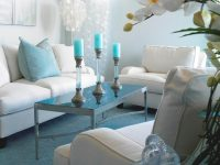 Light Blue Living Room With White Furnishings | Hgtv pertaining to 10+ Inspiration For Blue And White Living Room