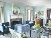 Living Room Blue White Together Furniture Decor Interior And inside Blue And White Living Room