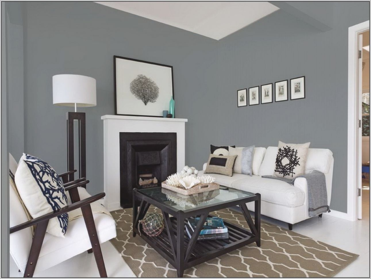 Living Room Gray Colors Interior Paint Wall Blue For Walls intended for 15 Ideas Gallery For Best Neutral Paint Colors For Living Room