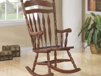 Living Room: Rocking Chairs – Traditional Medium Brown Rocking Chair throughout Chairs For Living Room Cheap