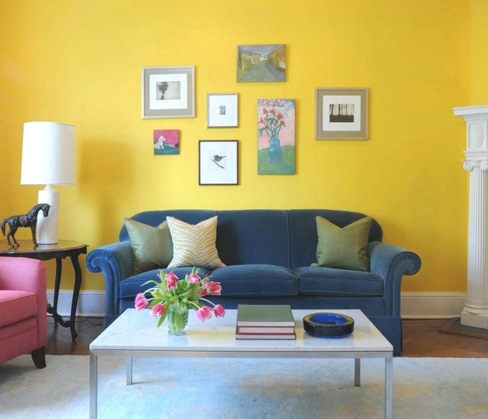 Living Room Yellow Ideas Grey And Blue Brown Gray Warm with regard to Blue And Yellow Living Room