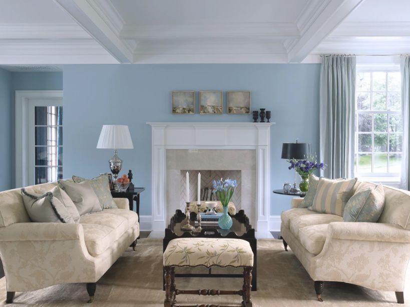 Livingroom Adorable Blue Living Room Ideas Light Brown regarding Blue And Tan Living Room