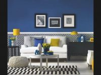 Modern Blue And Yellow Living Room – Youtube in Blue And Yellow Living Room