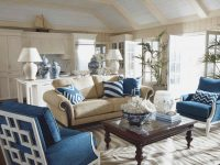 Navy Blue And White Living Room Beige Wood Rustic Coffee in 10+ Inspiration For Blue And White Living Room