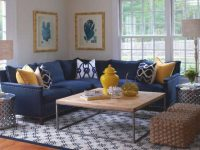 Navy Blue Yellow Grey Living Room – Decoratorist – #8522 within Blue And Grey Living Room