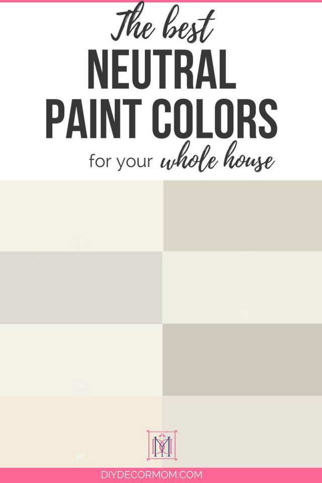 Neutral Paint Colors: The Best 8 Neutral Paint Colors For for Best Neutral Paint Colors For Living Room