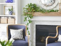 New Blue And White Living Room Updates – Sand And Sisal inside 10+ Inspiration For Blue And White Living Room