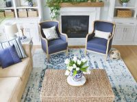 New Blue And White Living Room Updates – Sand And Sisal regarding 10+ Inspiration For Blue And White Living Room