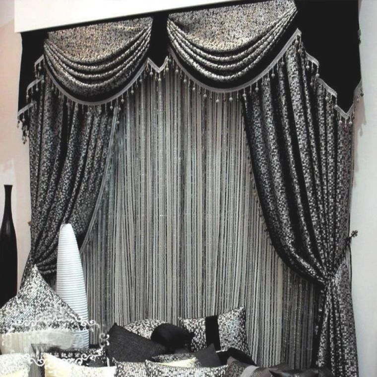 Outstanding Beautiful Curtain Designs Fancy Curtains For pertaining to Beautiful Curtains For Living Room
