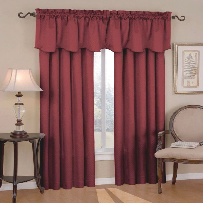 Panel Burgundy Curtains For Living Room — Oscarsplace in Burgundy Curtains For Living Room